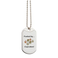 Fueled by Cupcakes Dog Tags