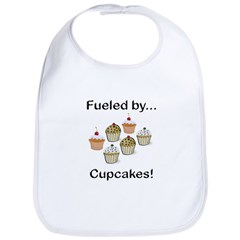 Fueled by Cupcakes Bib