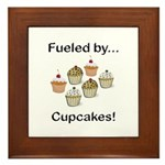 Fueled by Cupcakes Framed Tile