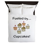 Fueled by Cupcakes Queen Duvet