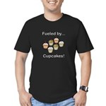 Fueled by Cupcakes Men's Fitted T-Shirt (dark)