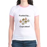 Fueled by Cupcakes Jr. Ringer T-Shirt