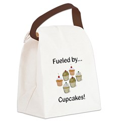 Fueled by Cupcakes Canvas Lunch Bag