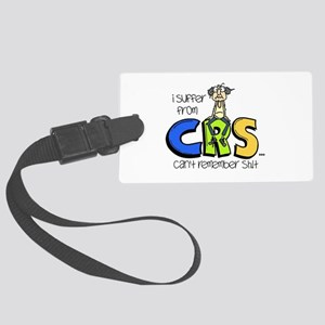 Male CRS Large Luggage Tag