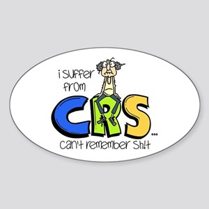 Male CRS Sticker (Oval)