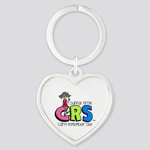 Female CRS Heart Keychain