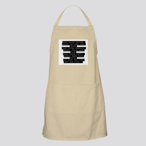 When Youre Crying Apron