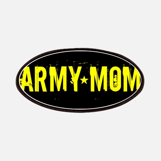 U.S. Army: Mom (Black & Gold) Patch