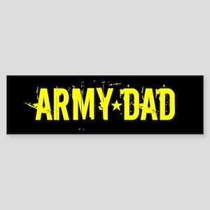 U.S. Army: Dad (Black & Gold) Sticker (Bumper)