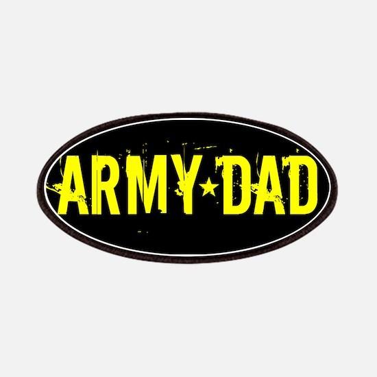 U.S. Army: Dad (Black & Gold) Patch