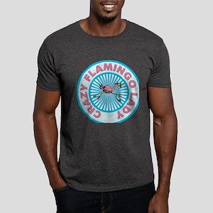 Crazy Flamingo Lady Dark T-Shirt