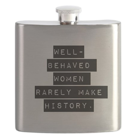 Well Behaved Women Flask