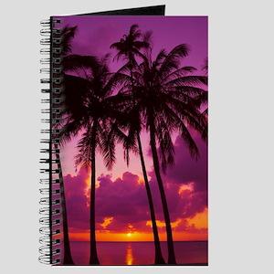 Purple Tropical Sunset 1 Journal