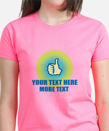 Thumbs Up | Personalized T-Shirt