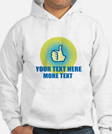 Thumbs Up | Personalized Hoodie