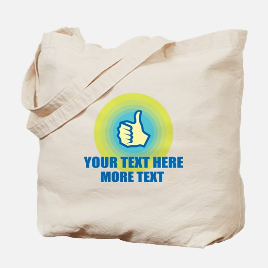Thumbs Up | Personalized Tote Bag