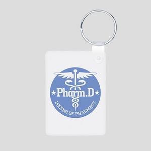 Caduceus Pharm.D Keychains