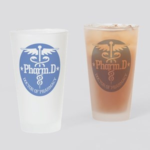 Caduceus Pharm.D Drinking Glass