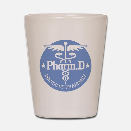 Caduceus Pharm.D Shot Glass