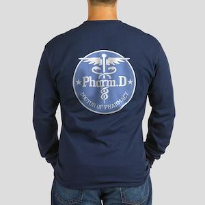 Caduceus Pharm.d Long Sleeve T-Shirt