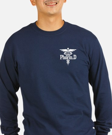 Caduceus Pharm.d Long Sleeve T-Shirt