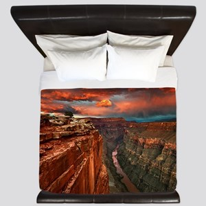 Grand Canyon Sunset King Duvet