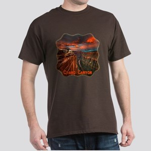 Grand Canyon Sunset Dark T-Shirt