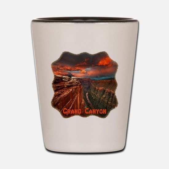 Grand Canyon Sunset Shot Glass