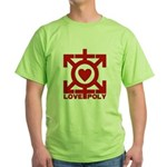 Love Poly Red Green T-Shirt