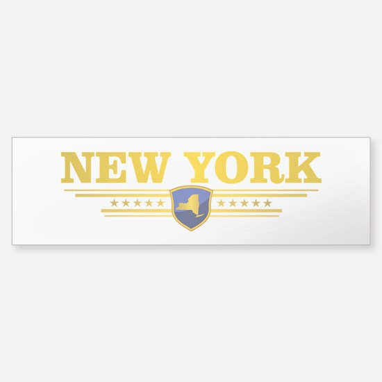 New York Gadsden Flag Bumper Bumper Bumper Sticker