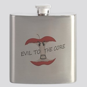 Evil To The Apple Core Flask