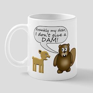 Beaver Don't Give A Dam Mug