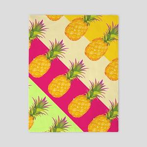 Tropical Pineapples, Twin Duvet