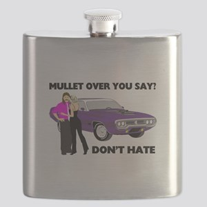 Mullet Over Think Again Flask