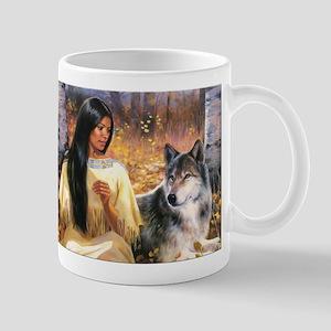 Grey Wolf Mugs