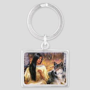 Grey Wolf Keychains