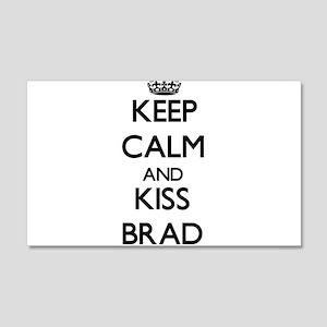 Keep Calm and Kiss Brad Wall Decal