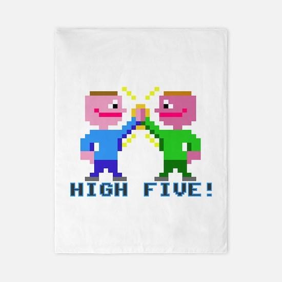 High Five! (v2) Twin Duvet