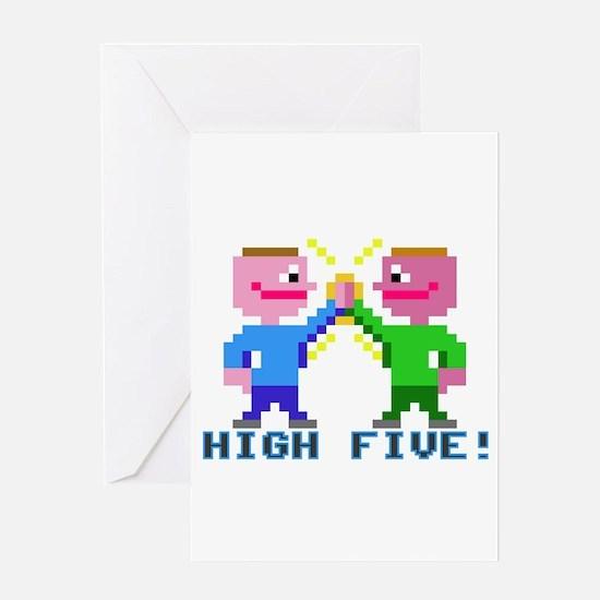 High Five! (v2) Greeting Card