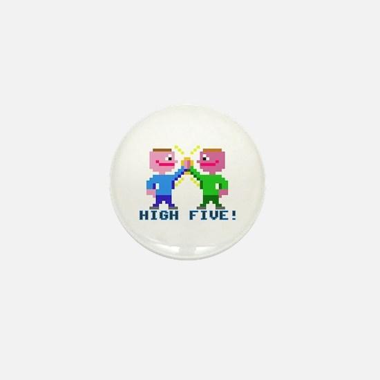 High Five! (v2) Mini Button