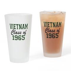Vietnam Class of 1965 Drinking Glass