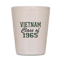 Vietnam Class of 1965 Shot Glass