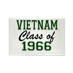 Vietnam Class of 1966 Magnets