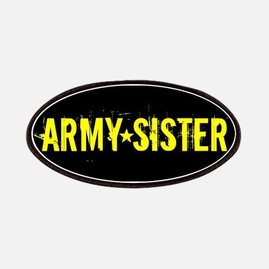 U.S. Army: Sister (Black & Gold) Patch