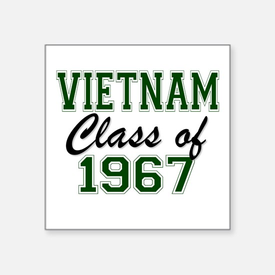 Vietnam Class of 1967 Sticker