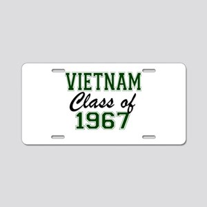 Vietnam Class of 1967 Aluminum License Plate