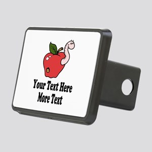Red Apple Teacher Hitch Cover