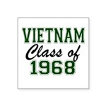 Vietnam Class of 1968 Sticker