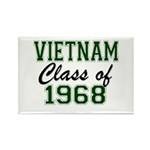 Vietnam Class of 1968 Magnets