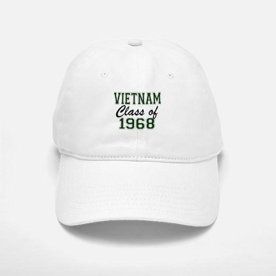 Vietnam Class of 1968 Baseball Baseball Baseball Cap
